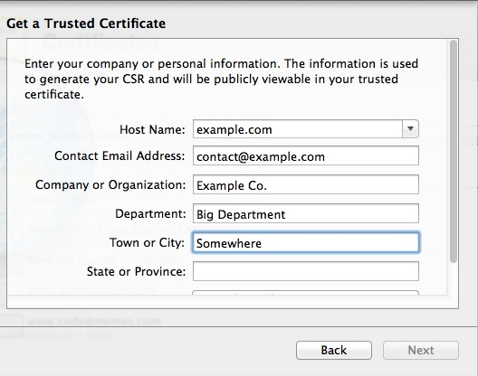 how to get domain name from csr programmatically